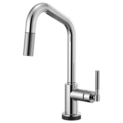 Brizo LITZE® SMARTTOUCH Pull Down Kitchen Faucet With Knurdle Handle 64063LF
