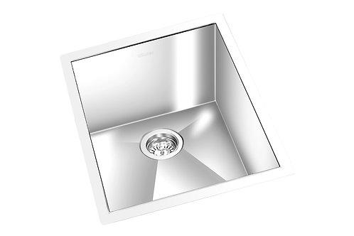 """Square 13""""x15""""x6.5"""" Single Kitchen Sink"""