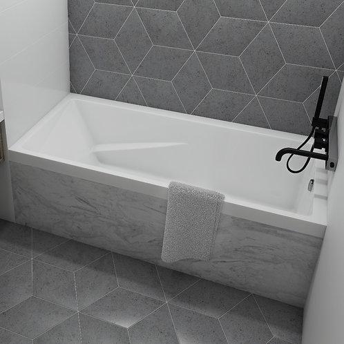 Mirolin Cetera Alcove Soaker Bathtub 60x32x20