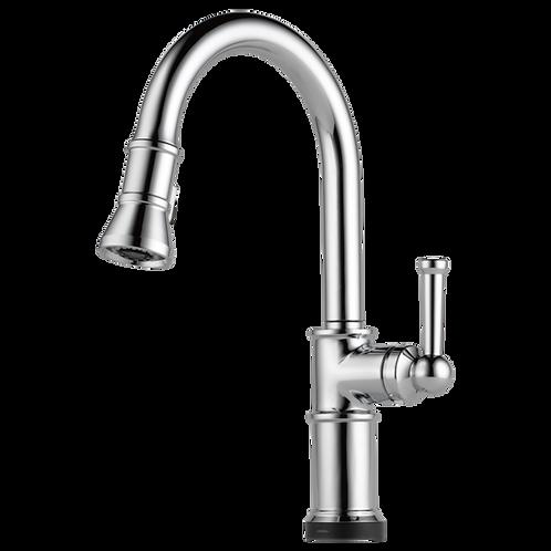 Brizo ARTESSO Single Handle Pull Down Kitchen Faucet With SMARTTOUCH 64025LF