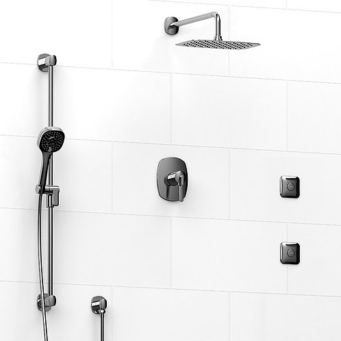 Riobel KIT#3545VY Venty 3 Way Thermostatic Shower with Jets