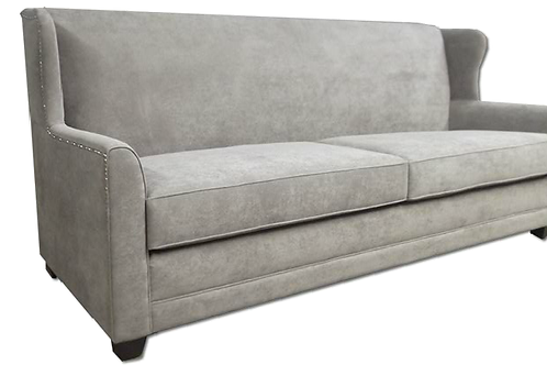 Custom Made Parker Solid Wood Sofa
