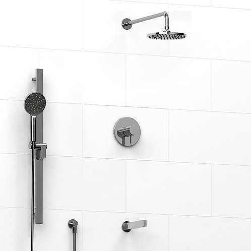 Riobel KIT#1345PXTM Paradox 3 Way Thermostatic Shower