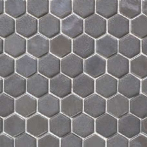 "Ceragres Onix Nature Opalo 1.25"" Hexagon Mosaic Tile"