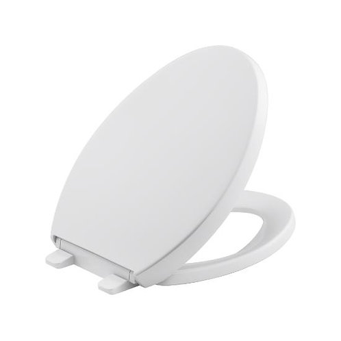 Kohler Reveal® Quiet-Close™ with Grip-Tight bumpers elongated toilet seat