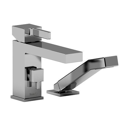 Riobel Mizo 2 Piece Deck Mount Bath Tub Filler Faucet with Handshower