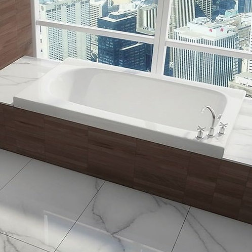 Mirolin Marlowe Drop In Soaker Bathtub 60x36x20