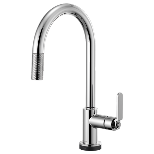 Brizo LITZE® SMARTTOUCH Pull Down Kitchen Faucet With Industrial Handle 64044LF