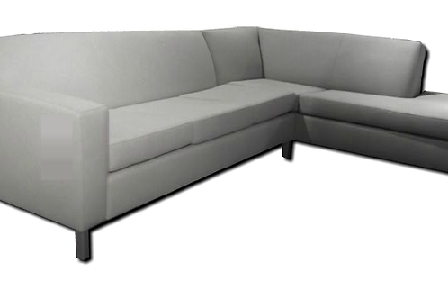 Custom Made Mobilia Solid Wood 2 Piece Sectional