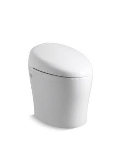 Kohler Veil® Intelligent Comfort Height skirted one-piece elongated dual-flush
