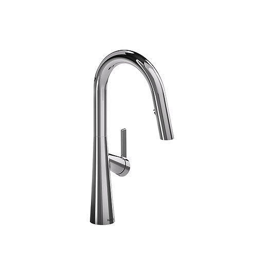 Riobel Ludik LK101C Kitchen Faucet with Spray Chrome