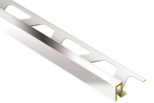 Schluter Deco Wide Reveal Chrome Plated Brass