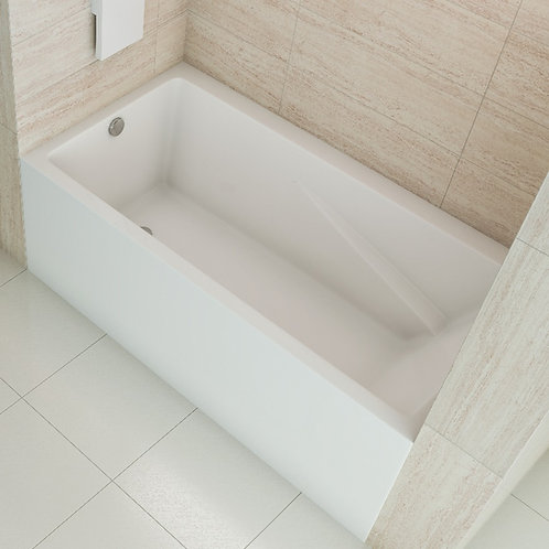 Mirolin Edessa Skirted Soaker Bathtub 60x32x20