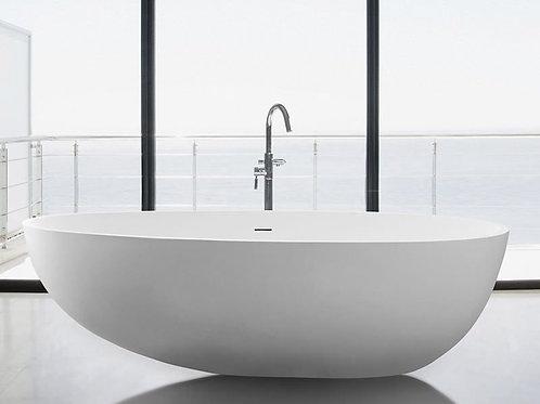 "Mirolin Nerissa 70"" x 38 ½"" x 20"" Freestanding Acrylic Bathtub"
