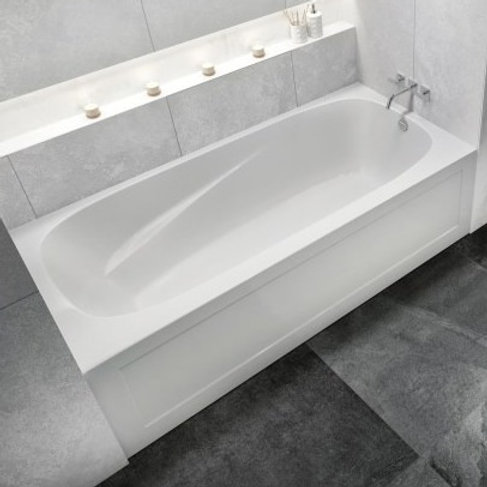 Mirolin Phoenix 3 Skirted Soaker Bathtub 72x34x20