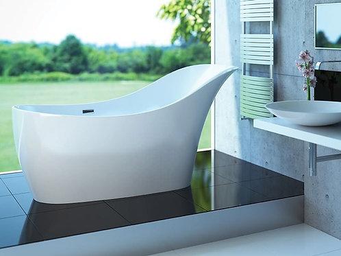 "Mirolin Sirena 65.75"" x 29.75"" x 34.75"" Freestanding Acrylic Bathtub"