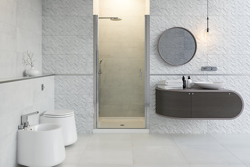 "Mirolin Swing 30 ½"" – 31 ½""x69"" Shower 4mm Glass Door"