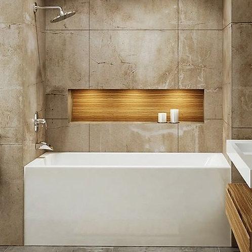 Mirolin Adora Skirted Soaker Bathtub 60x32x20