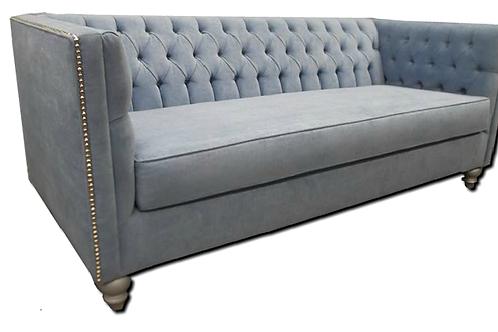 Custom Made Glamour Solid Wood Sofa
