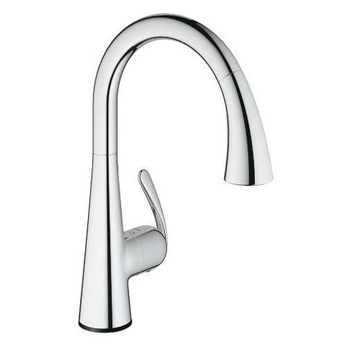 Grohe Ladylux Touch Touch Single-Handle Pull Down Kitchen Faucet
