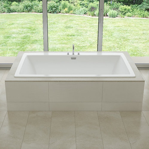 Mirolin Beacon Slimline Drop In Soaker Bathtub 67x36x23
