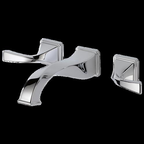 Brizo Virage Two Handle Wall Mount Lavatory Faucet