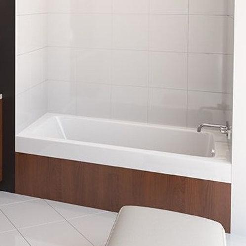 Mirolin Salina Alcove Soaker Bathtub 66x34x22