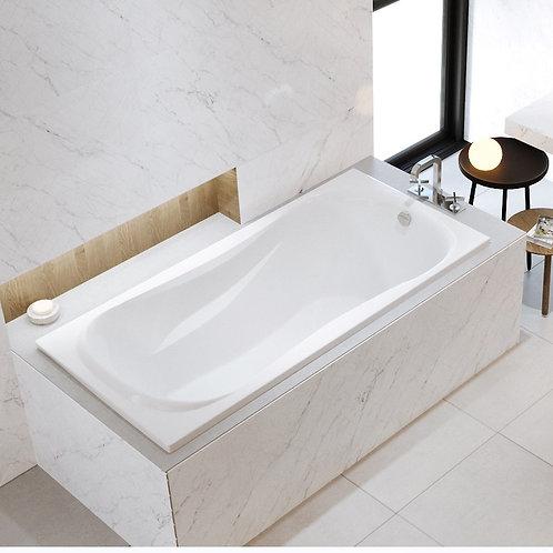 Mirolin Newport Drop In Soaker Bathtub 60x32x20