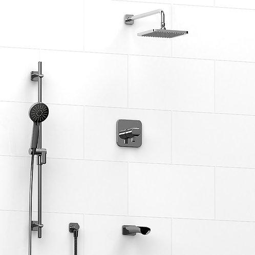Riobel KIT#1345SA Venty 3 Way Thermostatic Shower