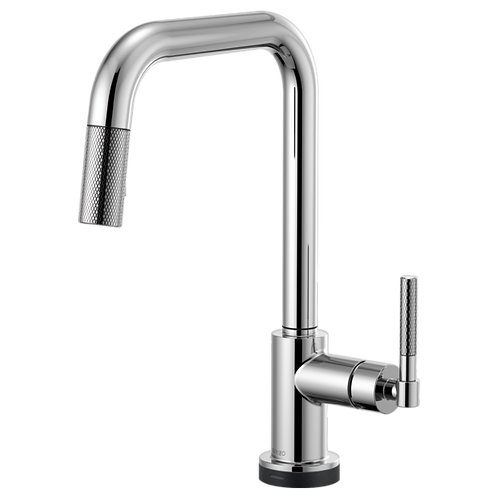 Brizo LITZE® SMARTTOUCH Pull Down Kitchen Faucet With Knurdle Handle 64053LF
