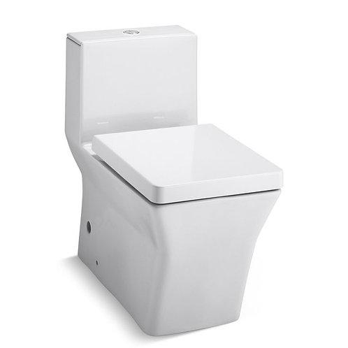 Kohler Rêve® Comfort Height® skirted one-piece elongated dual-flush toilet