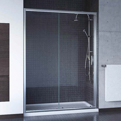 "Mirolin Rapido 42 ⅝"" – 43 ⅜""x73"" Squeeze Sliding Shower 6mm Glass Door"