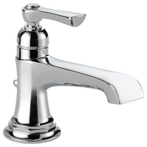 Brizo Rook Single Hole Lavatory Faucet Closed Spout