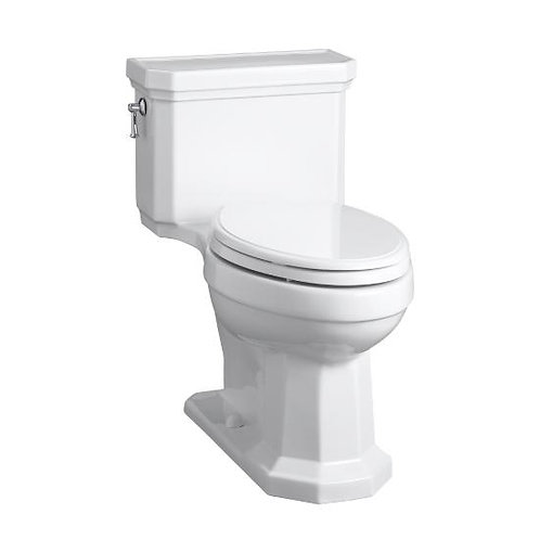 Kohler Kathryn® Comfort Height® one-piece compact elongated 1.28 gpf toilet