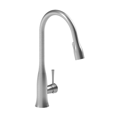 Riobel Edge ED101SS Kitchen Faucet with Spray Stainless Steel