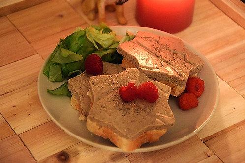 Faux-gras ou foie gras vegan 150g