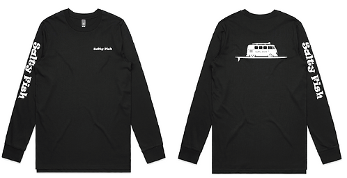 Long Sleeve T'Shirt - Black