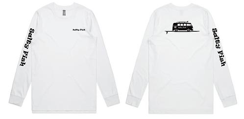 Long Sleeve T'Shirt - White