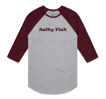 Undershirt - Grey/Maroon