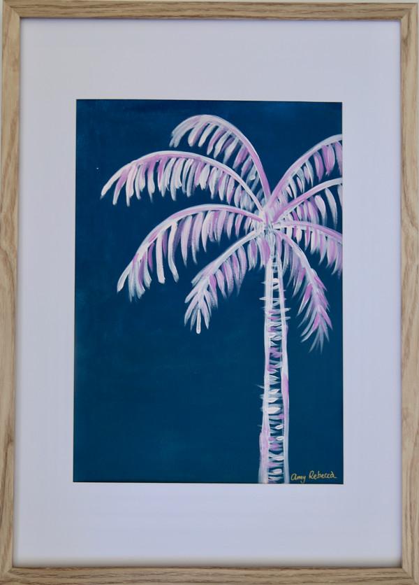 palm - ocean