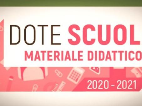 DOTE SCUOLA 2020-21