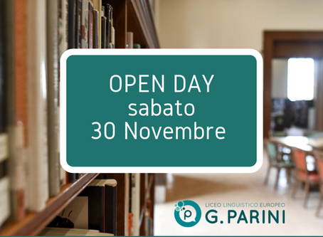 Open Day e MINISTAGE