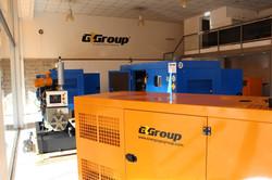 Instalación de grupos electrógenos
