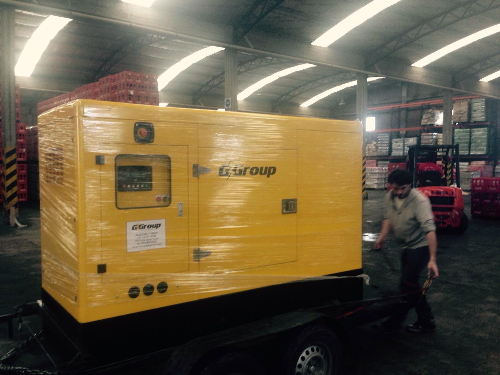 Generador eléctrico  Cummins 50 KVA