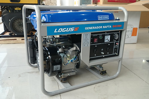LOGUS GG3300 3000W Arranque Manual NAFTERO