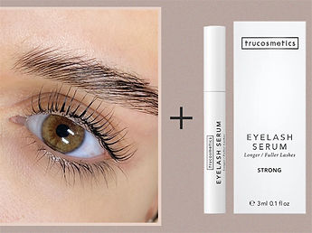 Wimpernlifting Serum Angebot
