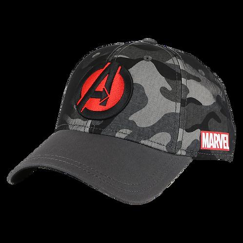 Marvel Avengers Logo Camo Baseball Cap