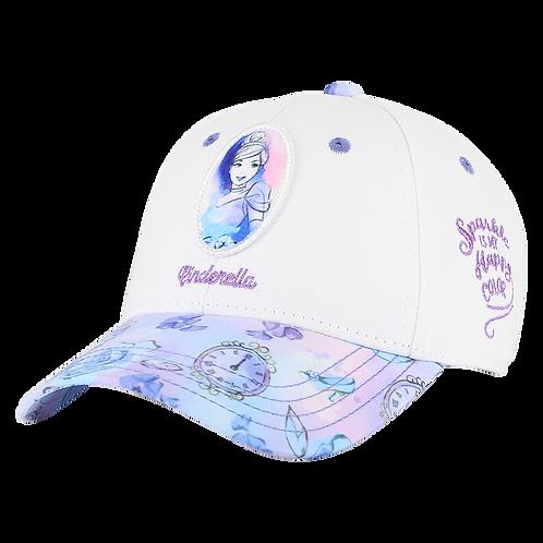 Disney Princesses Cinderella Baseball Cap with Floral Bill