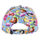 Thumbnail: Disney Princesses Comic Book Print Baseball Cap with Floral Bill