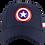 Thumbnail: Marvel Avengers Captain America Baseball Cap with TPU Patch